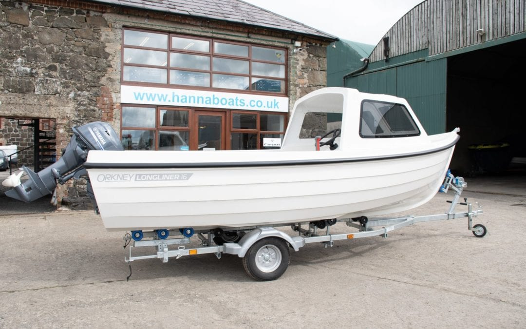 Orkney Longliner 16 Standard with Yamaha 25hp engine
